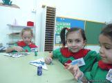 Primer semana de clases en el Jardin 158