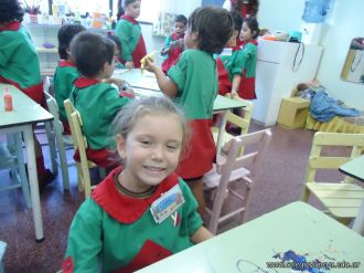 Primer semana de clases en el Jardin 159