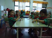 Primer semana de clases en el Jardin 184