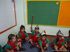 Primer semana de clases en el Jardin 233
