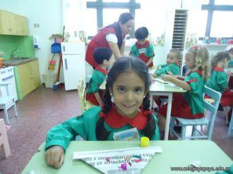 Primer semana de clases en el Jardin 49