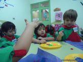Primer semana de clases en el Jardin 6