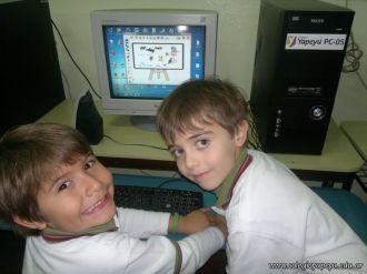 Primer grado en Sala de Computacion 12