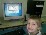 Primer grado en Sala de Computacion 15