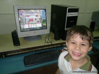Primer grado en Sala de Computacion 20