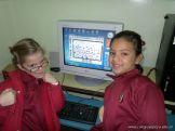 Primer grado en Sala de Computacion 24
