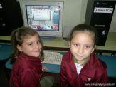 Primer grado en Sala de Computacion 27
