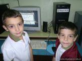Primer grado en Sala de Computacion 28