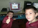 Primer grado en Sala de Computacion 30