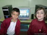 Primer grado en Sala de Computacion 35