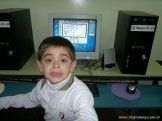Primer grado en Sala de Computacion 36