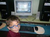 Primer grado en Sala de Computacion 41