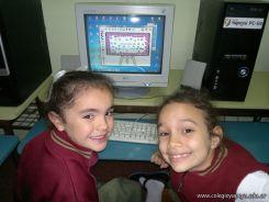 Primer grado en Sala de Computacion 44
