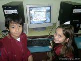 Primer grado en Sala de Computacion 8
