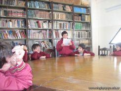 5to grado en Biblioteca 19