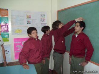 Nos medimos en Ingles 9