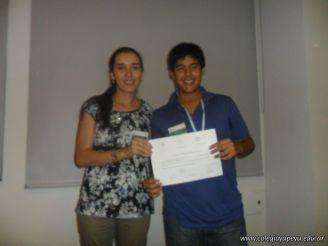 Franco gano la Instancia Nacional de las Olimpiadas de Historia 8