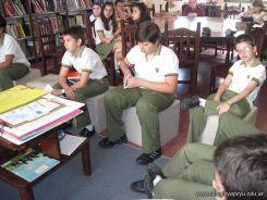 6to grado en Biblioteca 10