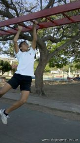 Entrenando para Rugby en la Costanera 42
