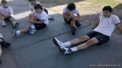 Entrenando para Rugby en la Costanera 45
