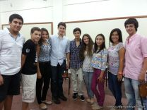 Bienvenida a alumnos de la Secundaria 2013 1