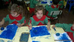 Pintando en Salas de 3 3