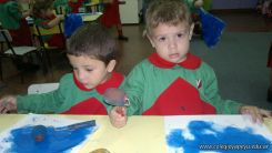 Pintando en Salas de 3 5