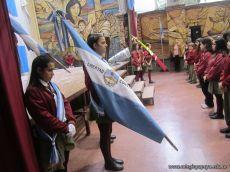 Acto por el Dia de la Bandera de la Secundaria 12