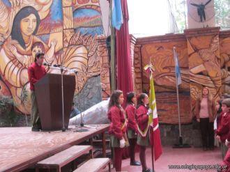 Acto por el Dia de la Bandera de la Secundaria 15
