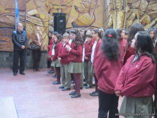 Acto por el Dia de la Bandera de la Secundaria 6