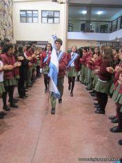 Acto por el Dia de la Bandera de la Secundaria 7