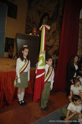 Acto por el Dia de la Independencia en la Primaria 33