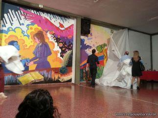 Inauguracion del Mural 35