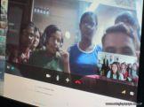 Videoconferencia con India 13