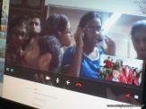Videoconferencia con India 27
