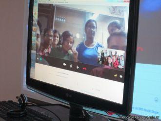 Videoconferencia con India 9