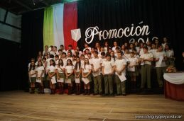 Acto de Clausura del Ciclo Lectivo 2013 de la Secundaria 130
