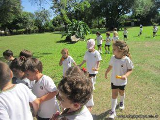 El Jardin comenzo las Clases en el Campo 20