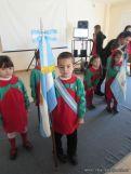 Acto por el Dia de la Bandera en Jardin 11