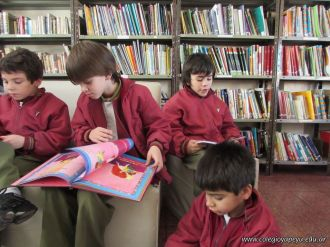 2do grado en Biblioteca 42