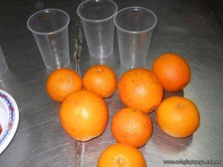 Jugo de Naranjas en Salas de 5 1