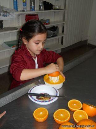 Jugo de Naranjas en Salas de 5 12