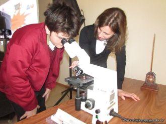 Aprendimos a usar el Microscopio Optico 31