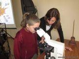 Aprendimos a usar el Microscopio Optico 40