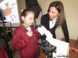 Aprendimos a usar el Microscopio Optico 41