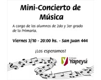 Mini-Concierto de Musica - Blog