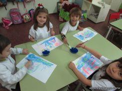 Crayon Fluor y Tempera Aguada 22