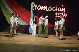 Acto de Colacion de la Promocion 2014 de Primaria 71