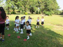El Jardín comenzó Educación Física 11