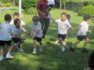 El Jardín comenzó Educación Física 56